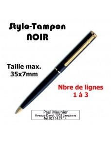 Stylo-Tampon NOIR