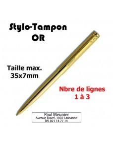 Stylo-Tampon en OR